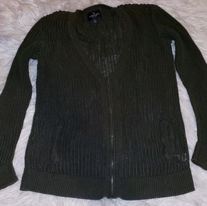 American eagle sweater L cardigan